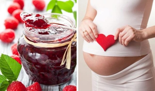 Малина при беременности: польза и вред