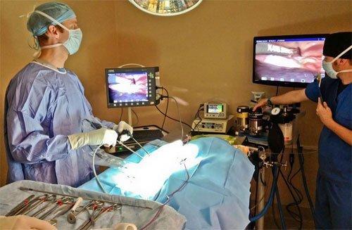Лапароскопия матки: показания, техника проведения, осложнения