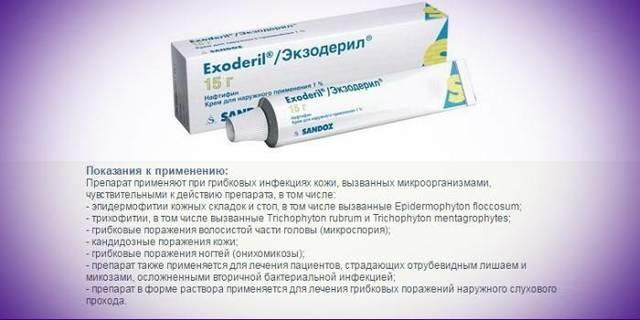 Экзодерил при беременности: можно ли, свойства препарата, противопоказания, как применять