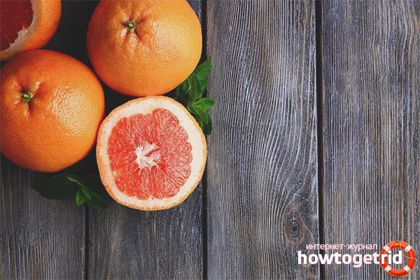 Чем полезен грейпфрут для беременных женщин
