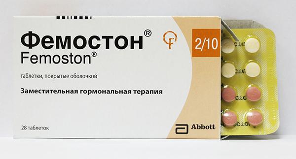 Фемостон при климаксе: особенности и схема приема лекарства