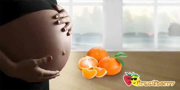 Мандарины при беременности: польза и вред