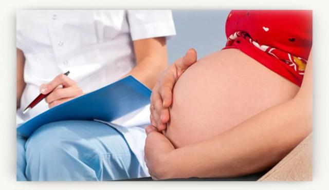 Полоска на животе при беременности: причины
