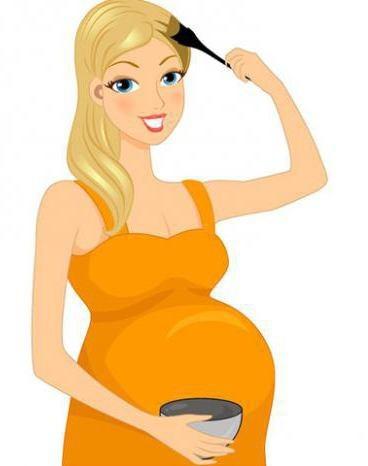 Можно ли красить волосы во время беременности: аргументы за и против, безопасные краски, натуральные рецепты