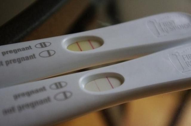 Если тест на беременность показывает слабую вторую полоску: причины