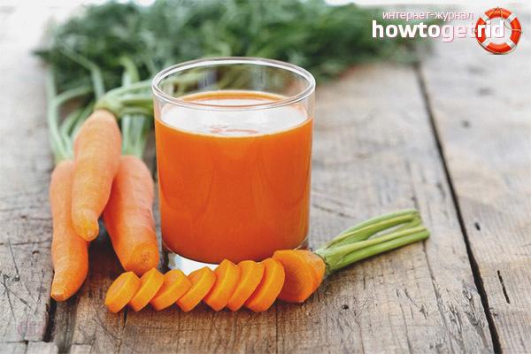Морковный сок при беременности: показания, противопоказания