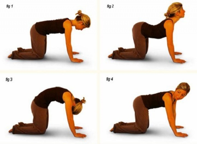 Массаж и упражнения при загибе матки