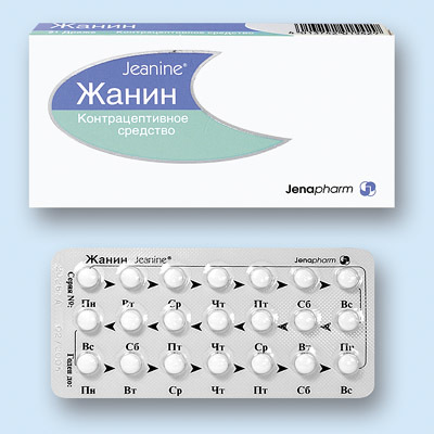 Жанин при миоме: особенности употребления препарата