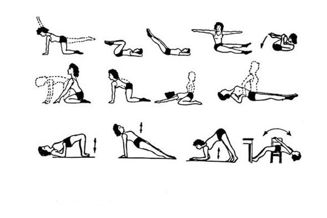 Упражнения при опущении матки: особенности и противопоказания