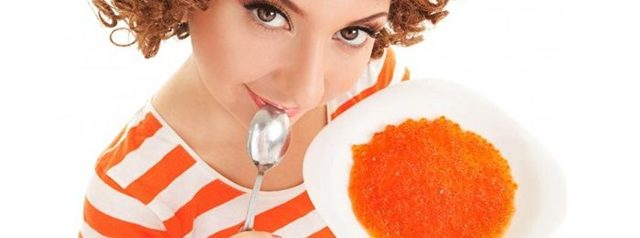 Красная икра при беременности: польза, калорийность, разрешённое количество