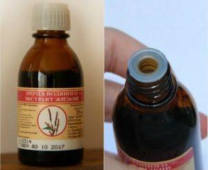 Экстракт водяного перца для сокращения матки: плюсы и минусы